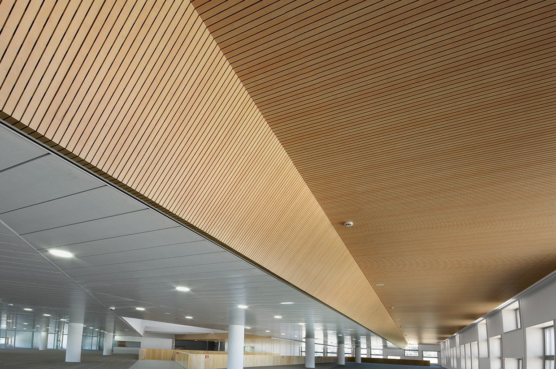 Biblioteca de la Universidad Carlos III en Getafe, Madrid - Rosound